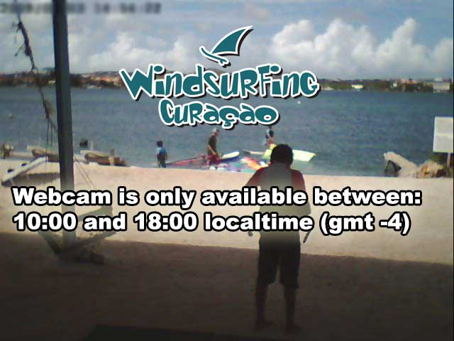 Windsurfing Curacao beachcam Jan Thiel Curaçao - Webcams Abroad live images