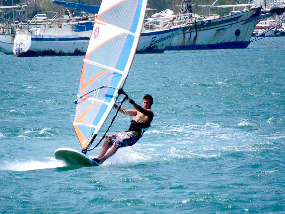 Windsurfing on the Spanish Waters