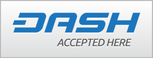 Dash crypto currency accepted here