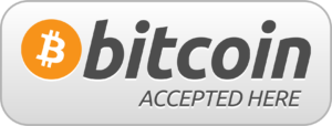 Bitcoin crypto currency accepted here